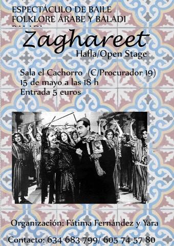 Danza del vientre Sevilla, Folclore ärabe