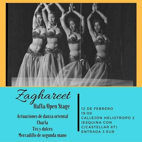 Danza del vientre en Sevilla